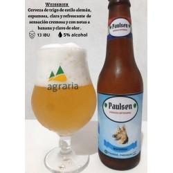 Cerveza estilo weissbier (Trigo) - PAULSEN
